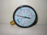"Manometer 0-10 bar 1/4"" unten"